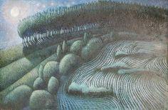 Igor Holas - White night, 2014, oil on canvas, 110x70cm, www.igorholas.cz