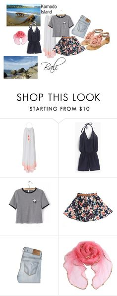 """""""The Amazing Indonesia"""" by mandalinaqitrydewi on Polyvore featuring Heidi Klein, J.Crew, WithChic and Hollister Co."""