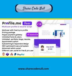 Share Code Null - A great community which provide many Scripts, Plugins and Themes for sharing. Script, Seo, Resume, Web Design, Things To Come, Coding, Profile, Future, Business