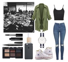 """""""Dinner of the family Beckham"""" by emma-horan-73 on Polyvore featuring mode, Topshop, Converse, NARS Cosmetics, Marc Jacobs, Bobbi Brown Cosmetics et Essie"""