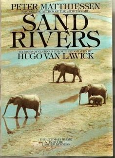 """In late 1979, the writer and naturalist Peter Matthiessen and the wildlife photographer Hugo van Lawick joined a safari into the Selous Game Reserve in southern Tanzania, one of the largest yet least-known strongholds of wild animals left on earth. Sand Rivers is their beautiful account of a remarkable trip into this quintessential East African wilderness."" (591.9678 MAT)"