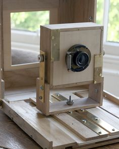 Making a large format camera. Front standard.