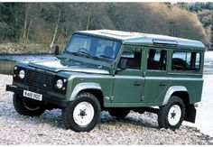 Land Rover Defender 110 Defender DTI 1994. Sw. Genuine factory made specifications.