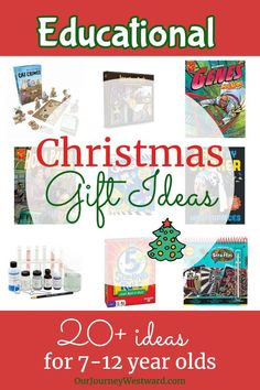 This educational Christmas gift list will provide happy surprises under the tree for year olds.