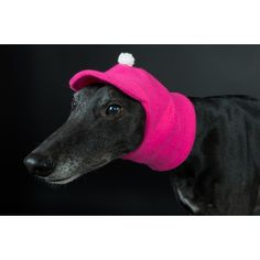 Designed by DOG AND HOME Beautiful hat made from good quaility fleece, Its two sided so you can turn hat over change the color of the hat if requested. There is also a hole for yhe lash what is very useful.Threesizes available for L-Greyhound and M-Whippet ans S-such as Chiuahuaha or Jack Russel. FREE UK DELIVERY