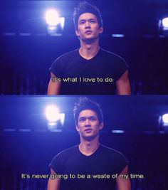 One of my favorite glee moments.