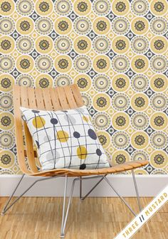 Buy Mustard Mini Moderns Darjeeling Wallpaper from our Wallpaper range at John Lewis & Partners. Free Delivery on orders over