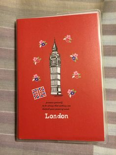 10.8x7.2cm I Love London Note Book For Your Trip To Great Britian New Notepad R