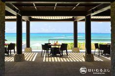 はいむるぶしビーチテラスから八重山の美しい景色を眺めながら、冷たいトロピカルカクテルをお召し上がりいただけます。  もちろん!沖縄のオリオンビールもございます!