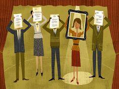 #RichardFaust #conceptual #diploma #business #illustration #vector #lindgrensmith