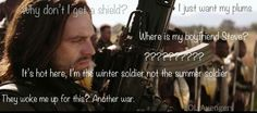 AHAHAH I'M THE WINTER SOLDIER NOT THE SUMMER SOLDIER