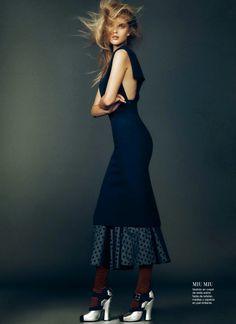Mirte Maas by Nico for Harper's Bazaar Spain October 2013