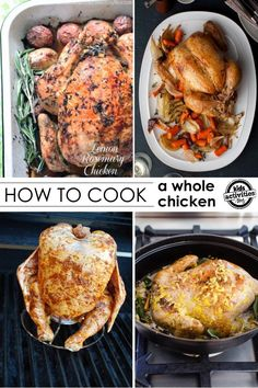 50 Mouth-Watering Chicken Recipes - chicken is a staple at our house but sometimes it's hard to find an original way to prepare it!  Love that these are 50 recipes for whole chickens.  Can't wait to try them!