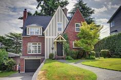 brick tudor homes - Google Search