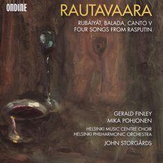 Mika Pohjonen - Rautavaara: Rubáiyát; Balada; Canto V; Four songs from Rasputin (CD)