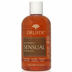 Druide Sensual - Foaming Bath 8.4oz by Druide. $11.99. Inspired by Aphrodite, Goddess of Love. Embrace pleasure and internal delight.. Exotic scents: express your wildest dreams.. A concentrated blend of the most precious of our certified organic (EcoCert) natural essential oils; share the pleasure of living in the present moment.. Awaken your senses with the scent of warm and invigorating essential oils.  Usage advice Add the equivalent of one or two capfuls whil...