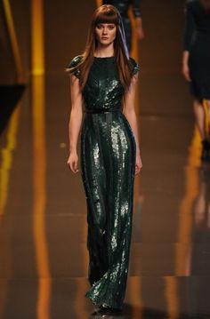 Paris Fashion Week: Elie Saab autumn/winter 2012