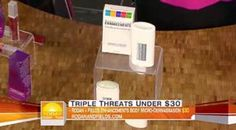 More FREE press for Rodan + Fields - this time from The Today Show! Our Microdermabrasion Paste is great for exfoliating before sunless tanner application, minimizing razor bumps and clearing blackheads from the face. Love this stuff!