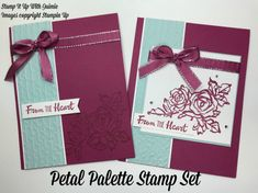 Petal Palette - Stampin Up - Stamp It Up with Jaimie