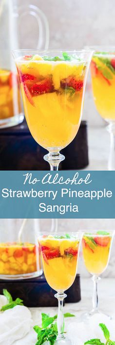 Made with a motley of of fruits like pineapple, strawberries, sparkling water, mint, Virgin Strawberry Pineapple Sangria Recipe is a perfect beverage to sip on hot summer days. Drink I No Alcohol I Sangria I Virgin I Summer I Cooler I Mocktail I Easy I Simple I Best I Quick I Perfect I homemade I