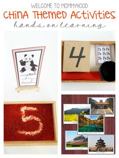 China themed activities and printables