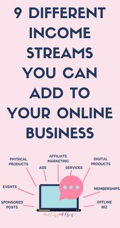 Grow Your Online Business By Adding Multiple Income Streams To Your Blog - Make Passive Income To Make Money Blogging!
