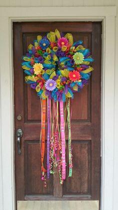 My Fiesta wreath