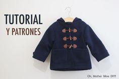 DIY Tutoriales y patrones: Abrigo tipo trenca para niño   Oh, Mother Mine DIY!!