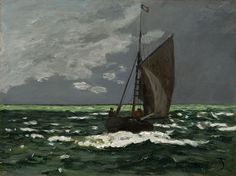 Claude Monet, Seascape - Storm, 1866/67  Clark Art Institute, Williamstown, MA