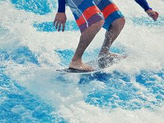 Learn to surf on the FlowRider.