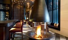 The Bar and Living Room | The Chedi Andermatt | Luxury Hotel Switzerland | GHM hotels