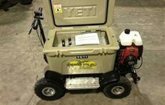 Yeti cooler go cart
