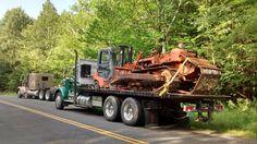 Otis, Mass. Toyota Forklift and AC D-5 Dozer. Ac D, Iron Mountain, Heavy Equipment, New England, Toyota, Trucks, Truck
