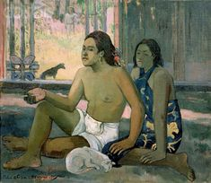 Paul Gauguin - Tahitian Women and Cat