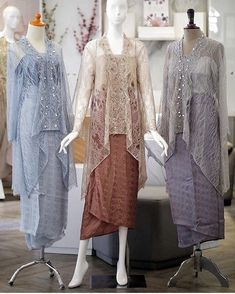 Kebaya Modern Hijab, Dress Brokat Modern, Model Kebaya Modern, Kebaya Hijab, Kebaya Lace, Kebaya Dress, Dress Pesta, Beanie Outfit, Hijab Dress Party