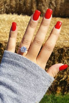 25 Gorgeous Engagement Rings To Get You Inspired: a gorgeous rose gold engagement ring with a cushion diamond #engagementring; #diamondring