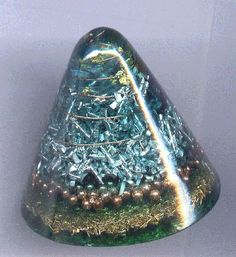 """orgonite~ Ok, so it's not a """"rock"""" per se, but it contains a lot of rocks, and has energetic properties of minerals. :-)"""