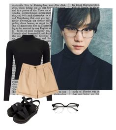 """Yoongi Fashion #1"" by sugasparkles on Polyvore featuring Miss Selfridge"