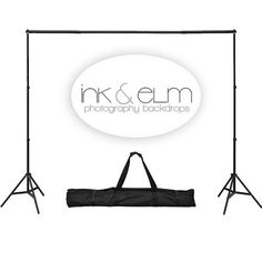 Photography Backdrop Stand - Backdrop Portable Stand - Backdrop Support System - Photography Studio Equipment on Etsy, $44.95
