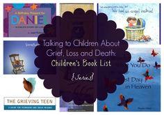 Talking to Children About Grief, Loss and Death: Children's Book List {Series}   Cincinnati Moms Blog