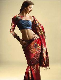 kanshivaram saree.  how could i miss this design!