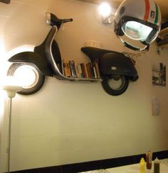 Vespa shelf