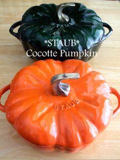 5qt Basil Pumpkin & 3.5qt Orange Pumpkin