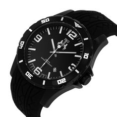 Can\'t go wrong with this black Jivago sport watch