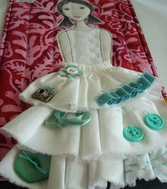 believemagic » Blog Archiv » Creative Girl Art Quilt How To 2