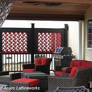 A Privacy Porch Offers Relaxation