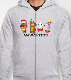 WASTED Hoody by blknvda - $38.00