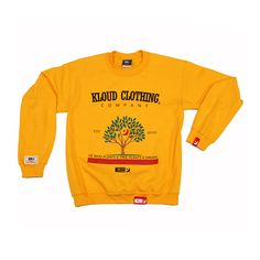 Kloud P.A.T Crewy Gold by Kloud Clothing Co