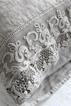 grey lace...