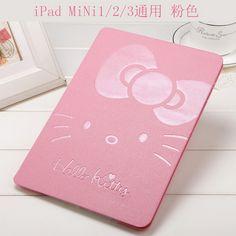 IPad Protective cartoon case with Hello Kitty for